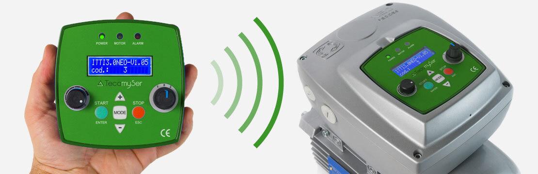Variador de frequência Wi-Fi