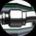 Peces de l'articulació per a Bombes Helicoïdals