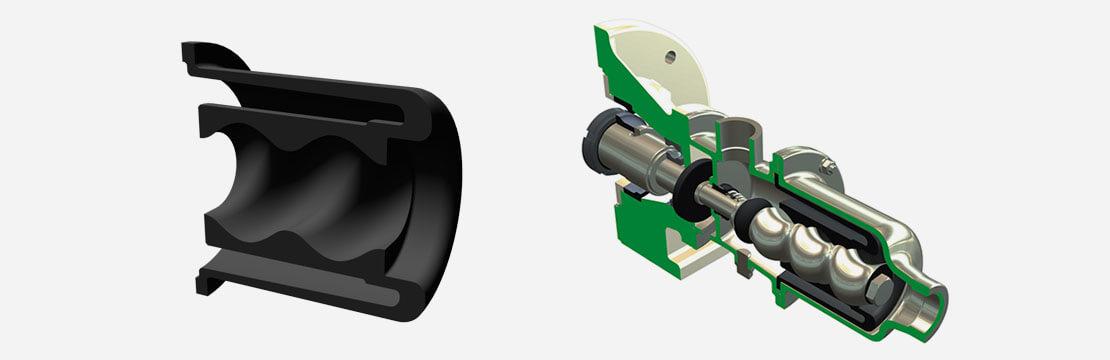 Wobble stator pumps Technical Advantages